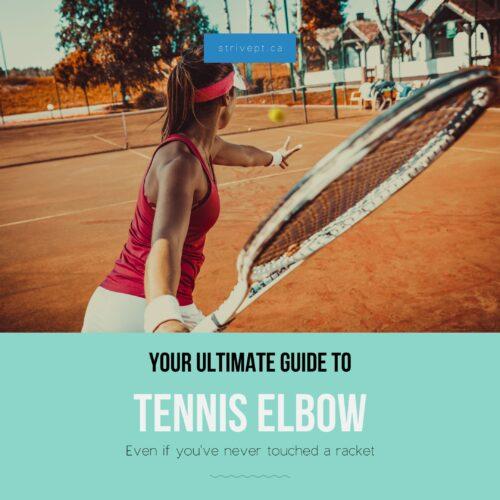tennis elbow, golfer's elbow, tendonitis elbow, epicondylitis