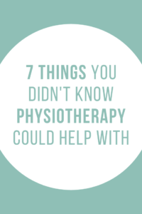 physiotherapy can help