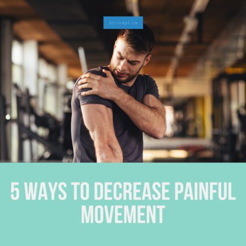 how to decrease pain