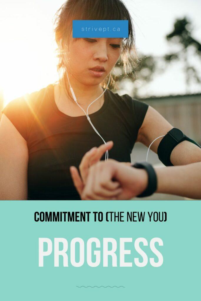 self help, progress, commitment, healthy lifestyle