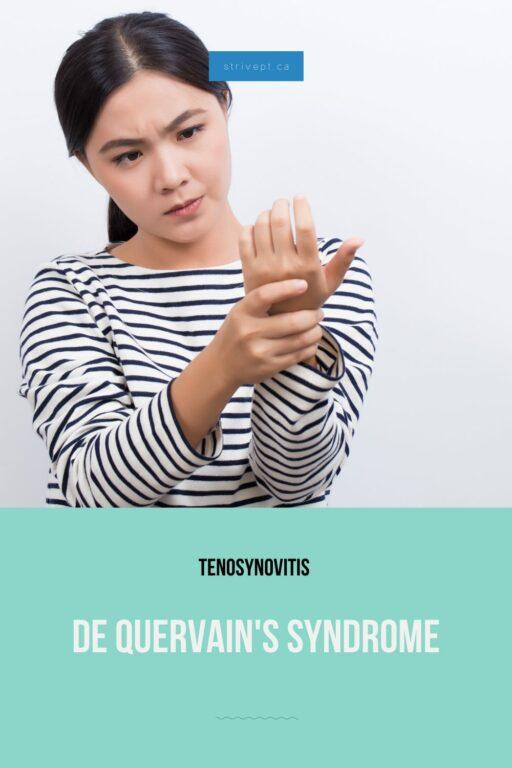 de quervain's syndrome